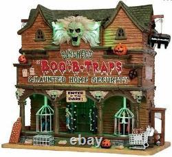 Lemax Spooky Town Banshee's Boo-B-Traps NIB