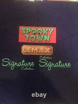 Lemax Spooky Town Bump in the Night