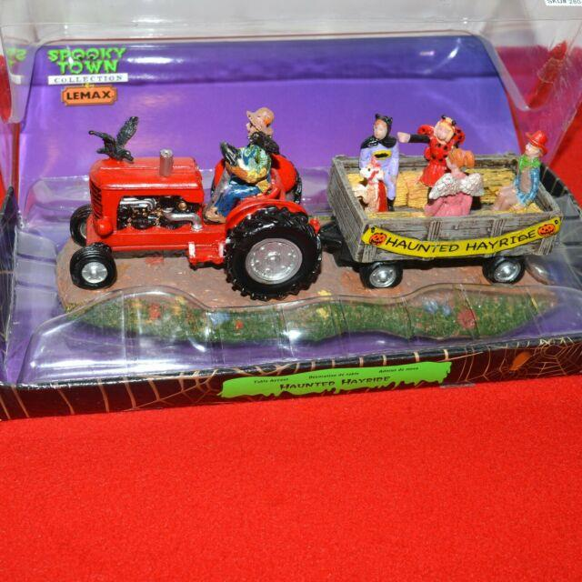 Lemax Spooky Town Collection Haunted Hayride 2011 Ceramics Table Accent Rare