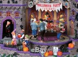 Lemax Spooky Town Collection Lighted Building Halloween Party Table Decor Gift