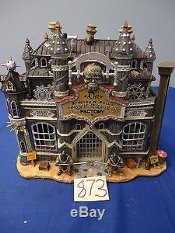 Lemax Spooky Town D. R Stretch And Pull Torture Factory 45001 As-Is 873