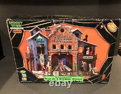 Lemax Spooky Town Dead as a Doornail Morgue