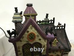 Lemax Spooky Town Full Moon Apothecary #85664 2008 LIMITED EDITION RETIRED