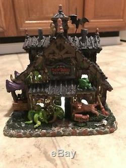 Lemax Spooky Town Halloween Collection Lot