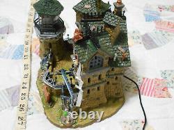 Lemax Spooky Town Halloween Village Forsaken Souls Prison #75497 RETIRED