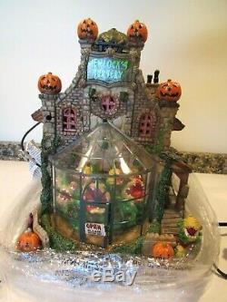 Lemax Spooky Town Hemlock's Nursery 2014- NIB