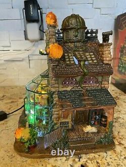 Lemax Spooky Town Hemlock's Nursery #45661