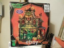 Lemax Spooky Town Hemlock's Nursery #45661(2014) NIB RARE Retired! Halloween NEW