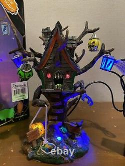 Lemax Spooky Town Hungry Tree House Halloween Village