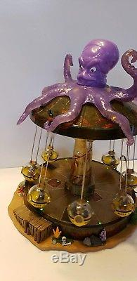 Lemax Spooky Town Octo-Swing 14379 Halloween Carnival Animated RARE