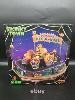 Lemax Spooky Town Pumpkin Tilt-N-Hurl NEW. Factory sealed & FREE shipping