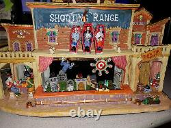 Lemax Spooky Town SHOOTING RANGE 2010 RETIRED Pre-owned Condition