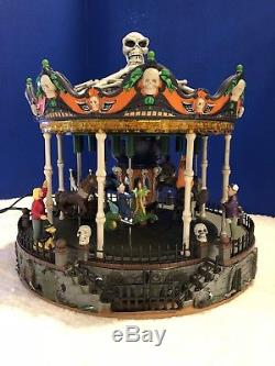 Lemax Spooky Town Scary Go Round #34605