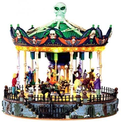 Lemax Spooky Town Scary Go Round New