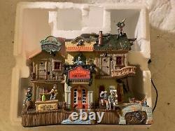 Lemax Spooky Town Spookytown Pirates Pub & Grub Halloween Village As Is Read