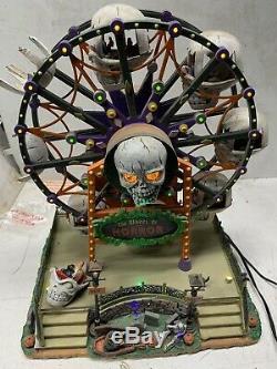 Lemax Spooky Town THE WHEEL OF HORROR Ferris Wheel read Description