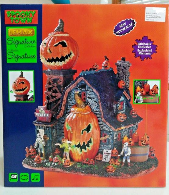 Lemax Spooky Town. The Mad Pumpkin Patch. Brand New! 2017 In Box. Lights And Sound