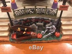 Lemax Spooky Town The Wheel Of Horror #04162 Halloween Carnival Ride Village