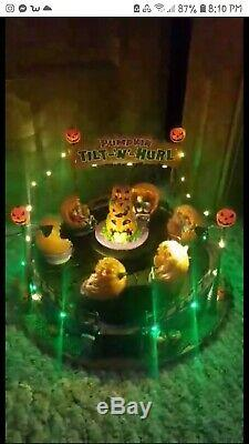 Lemax Spooky Town Tilt N Hurl new in box has been tested