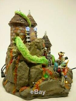 Lemax Spooky Town Tunnel of Terror withLights Animated Halloween Decor SEE VIDEO