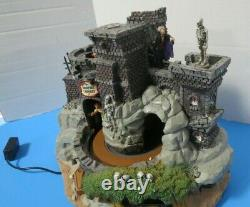 Lemax Spooky Town Vampire Caverns Animation Lights Sounds Retired 94961 Video