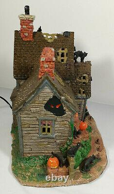 Lemax Spooky Town Vicki's Cattery (2010) (Retired) Spooky Town