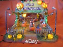 Lemax Spooky Town Wild Pumpkin Ride
