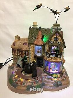 Lemax Spooky Town Witches Brew Haus 95816