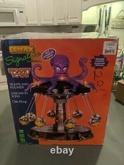 Lemax Spooky town Octo-swing