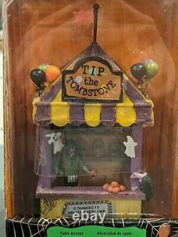 Lemax Spooky town Tip the Tombstone MIP