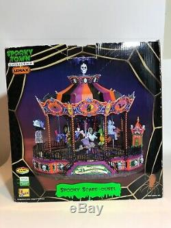 Lemax spooky town halloween collection Spooky Scare-ousel 74667