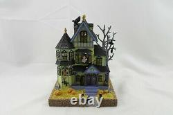 Lenox Halloween Haunted Lighted House NIB