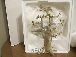 Lenox Halloween Trick Or Treat Tree with12 Ornaments- 12 MIB