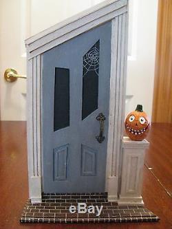 Lori Mitchell Halloween Scene Spooky Door 3 Trick Or Treat Kids In Costume & Lori Mitchell Halloween Scene Spooky Door 3 Trick Or Treat Kids In ...