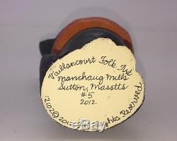 Mib Vaillancourt Chalkware 2012 Halloween Black Cat In Hat