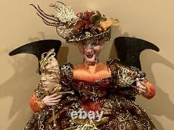 Mark Roberts Masquerade Ball Spice Witch, Large 24 Tall (5 of 250)