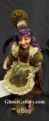 Mark Roberts Retired 21 Kitchen Witch Doll in Box Very Rare MINT NEW IN BOX