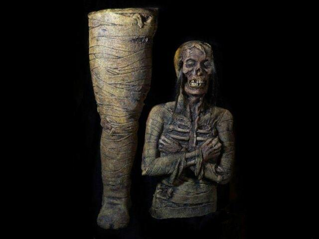 Monster Mummy Prop Skeleton Bone Dead Zombie Corpse Halloween Haunted House New