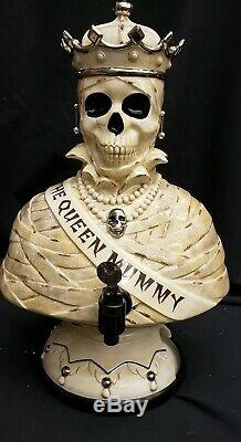 Morgue Sale Department 56 Stunning Queen Mummy Cider Server Mint original box