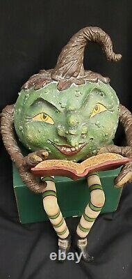 Morgue Sale Halloween Bethany Lowe Storytime Warty Witch Retired 2013 MINT