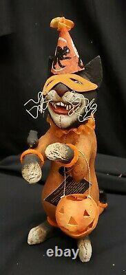 Morgue Sale Halloween Bethany Lowe Vergie Lightfoot Opera Cat Retired MINT