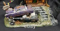 Morgue Sale Halloween Department 56 Rusty's Used Cars Retired 2011 MINT NIB