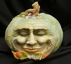 Morgue Sale Halloween ELLEN GOMOLL Pumpkin Fligurine Retired 2012 MINT