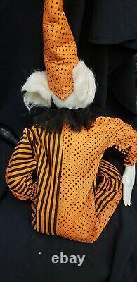 Morgue Sale Halloween Joe Spencer doll BAZZEL THE CLOWN Retired mint New