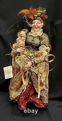 Morgue Sale Halloween Mark Roberts Masquerade Ball Witch 22 Retired 2012 Mint