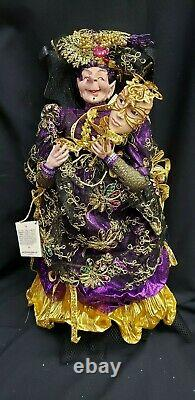 Morgue Sale Halloween Mark Roberts Masquerade PASSION Witch 22 Doll Retired