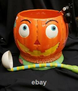 Morgue Sale Halloween PATCHES the Scarecrow Punchbowl by 180 Degrees RETIRED