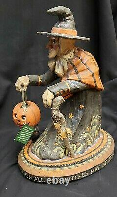 Morgue Sale Halloween Pam Schifferl Witch's Eve Large 16 Figurine Retired 2014