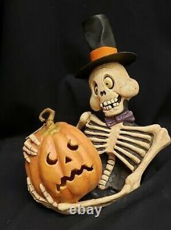 Morgue Sale Halloween Rucus Studio Scott Smith Skeleton Sam & Jack O'Lantern