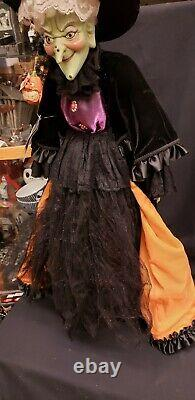 Morgue Sale Katherine's Collection 37 Unique Wicked Witch Doll Retired Mint